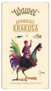 Etykieta Wawel - kogut