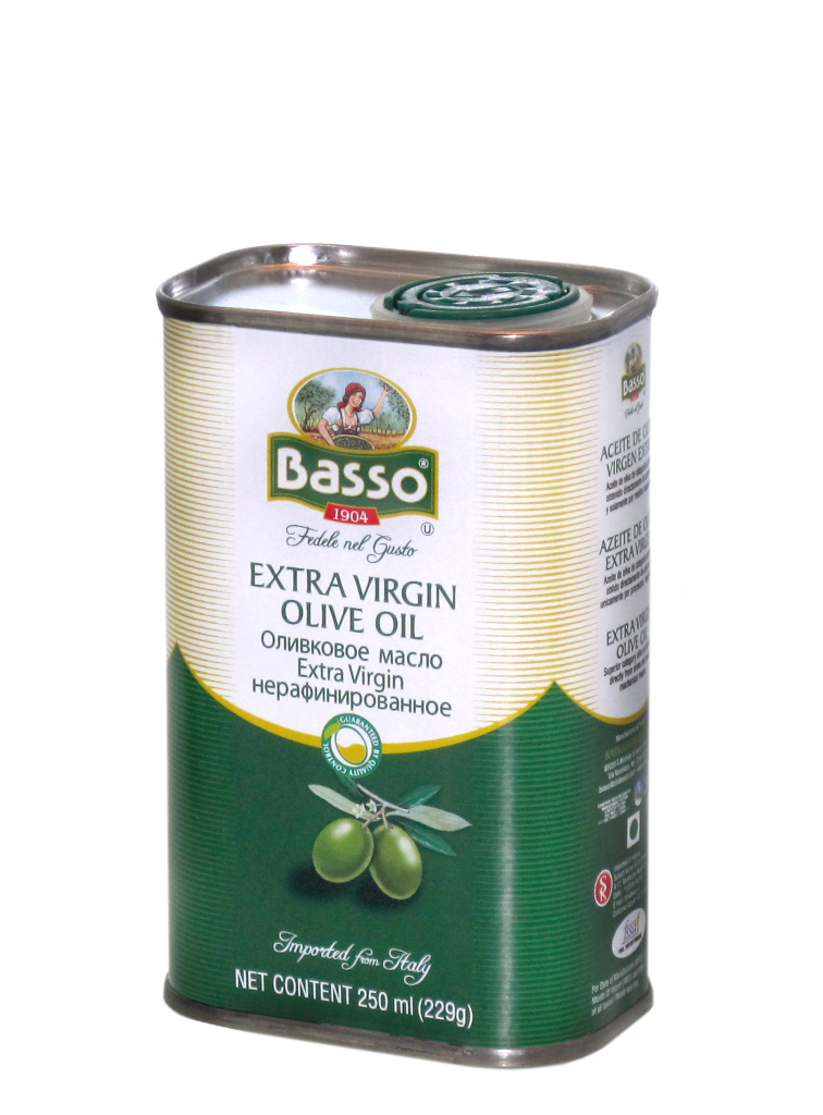 Extra virgin TIN 250ml