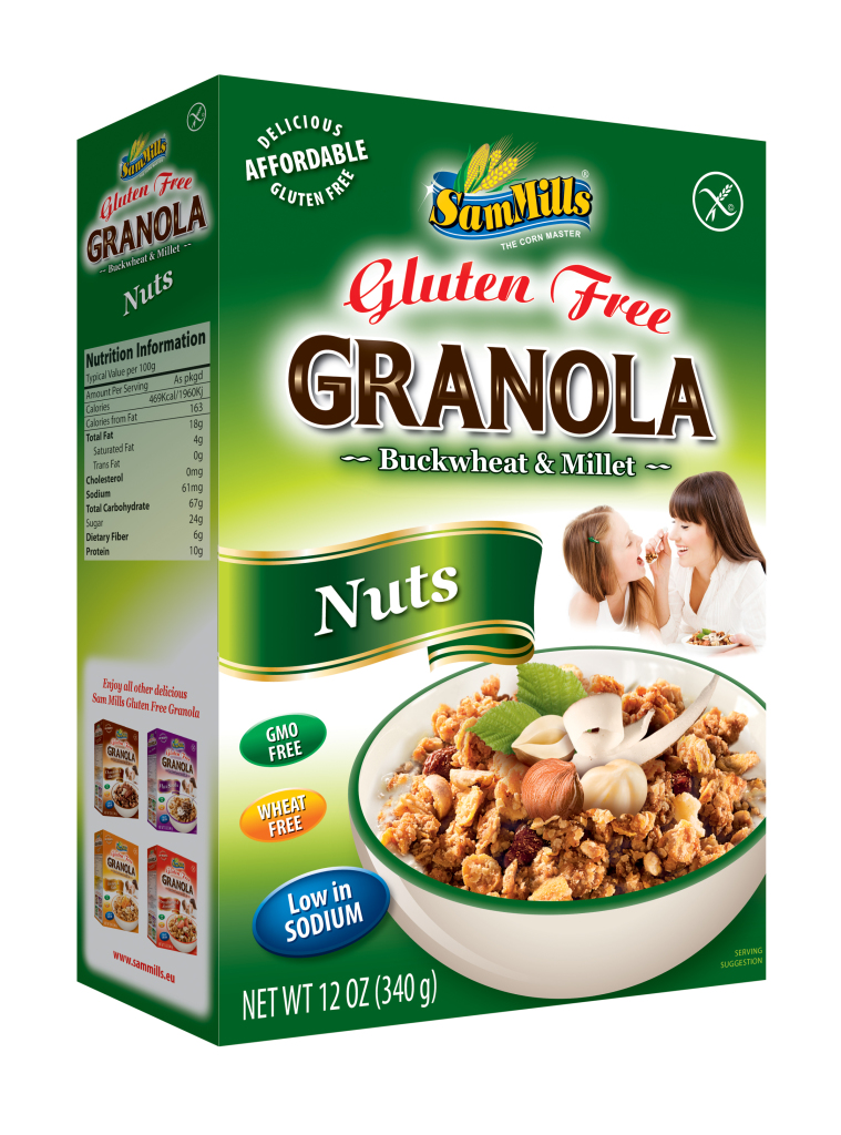 Granola SM 23 Chocolate and Almonds