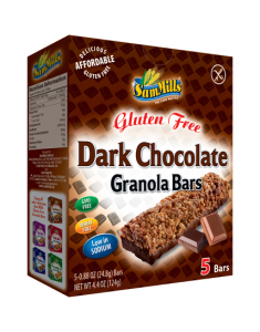 SamMills Granola Bars 147x126x40 Dark Chocolate