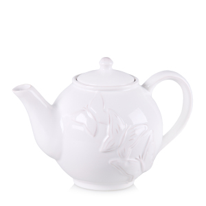 DECHIRY - Butterfly teapot white