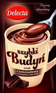 Delecta_Szybki budyn smak czekoladowy z czekolada