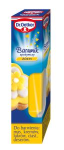 Dr.Oetker_Barwnik spożywczy w żelu_żółty