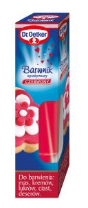 Dr.Oetker_Barwnik spożywczy w żelu_czerwony