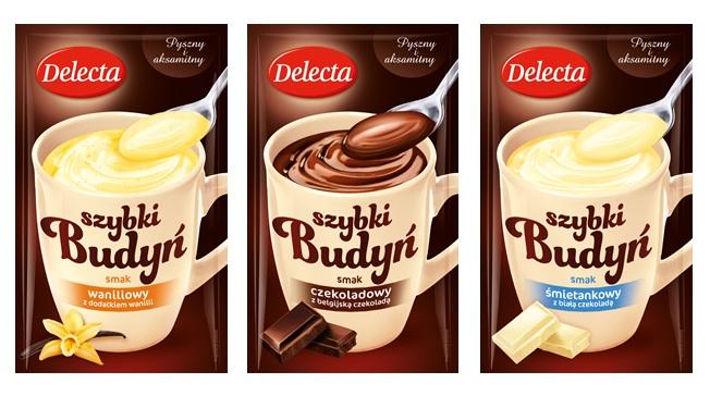 Szybki budyn Delecta_mix smakow