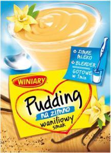 pudding na zimno wanilia