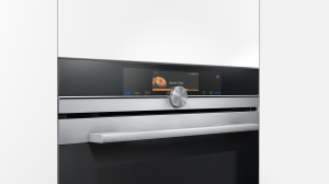 Siemens_iQ700 oven with microwave_display perspective