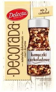 Dekorada kamyczki czekoladowe