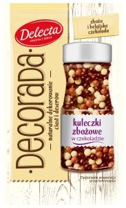 Dekorada kuleczki zbozowe w czekoladzie