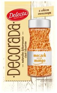 Dekorada maczek smak mango