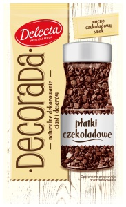 Dekorada platki czekoladowe