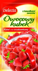 Owocowy kubek smak truskawkowy