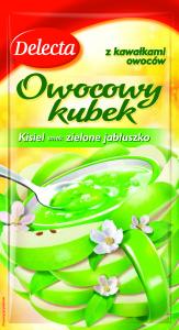 Owocowy kubek smak zielone jabluszko