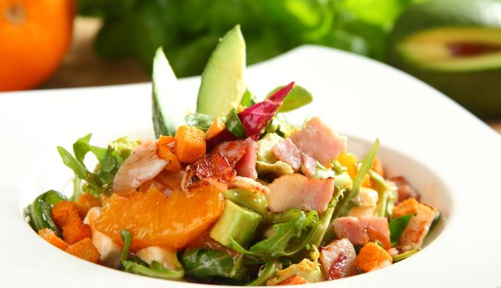 Salatka Szefa z pomaranczami i awokado