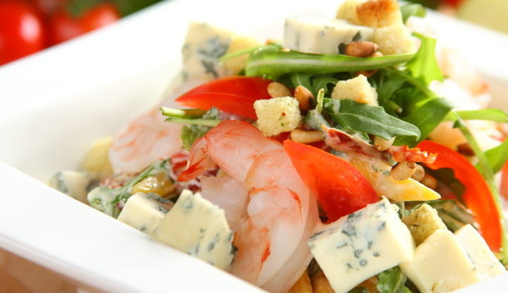 Salatka z krewetkami tygrysimi2