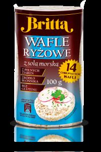 wafle z solą morską