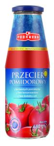 Przecier pomidorowy w szklanej butelce _Podravka