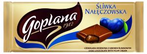 Goplana czekolada - sliwka naleczowska 90 g