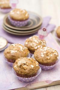 Owsiane muffiny twarogowe z jabłkami_DSC3761
