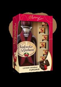 Nalewka Babuni z czekoladkami kartonik