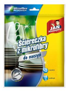 Jan Niezbędny_ściereczka do naczyń z mikrofibry_cena ok. 8,00 zł