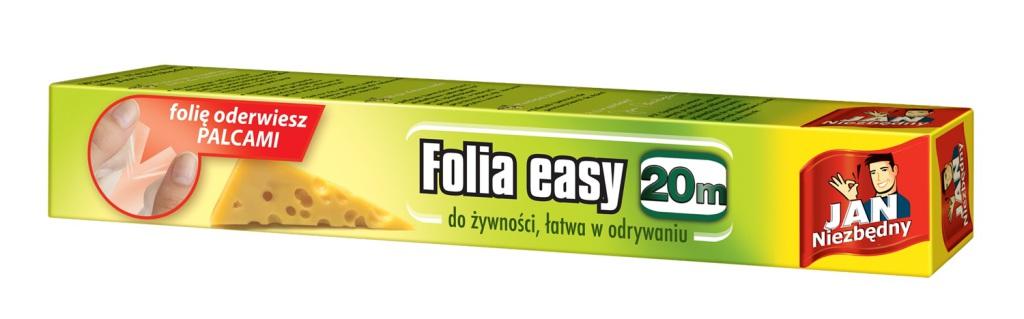 Jan Niezbędny folia do żywności EASY, cena ok. 4,5 zł(1)