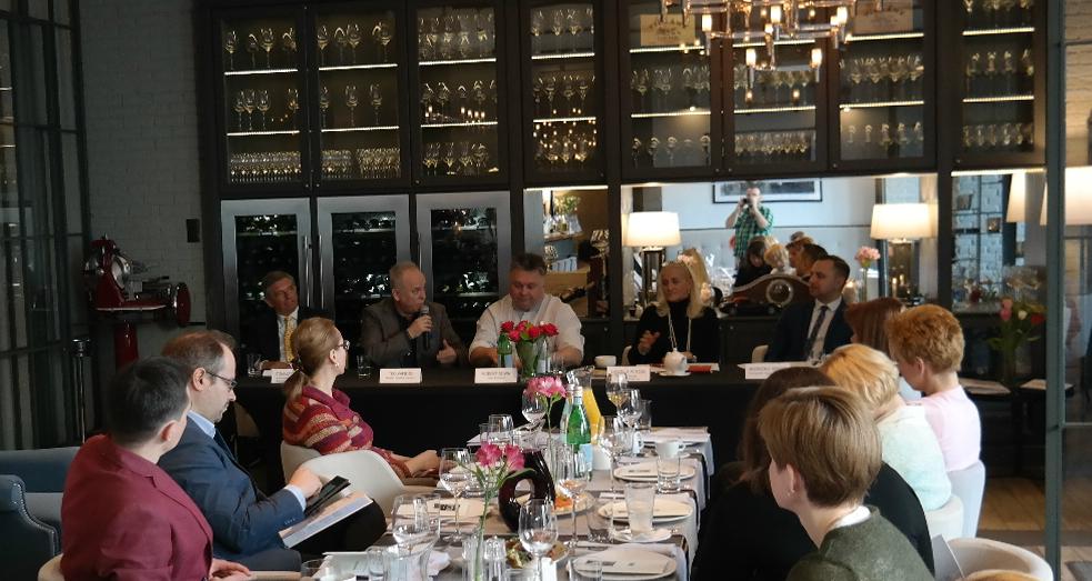 Konferencja prasowa Międzynarodowych Targów Gastronomicznych EuroGastro, restauracja  N31 restaurant&bar