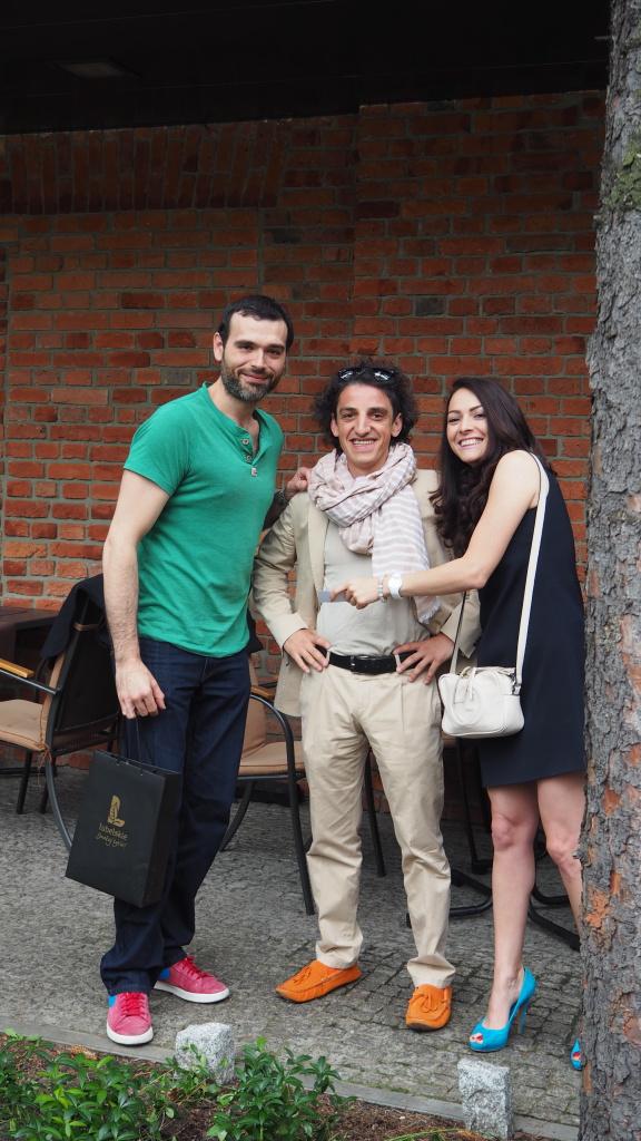 Na zdjęciu od lewej: Andrea Camastra, Ivo Violante, Diana Volokhova.
