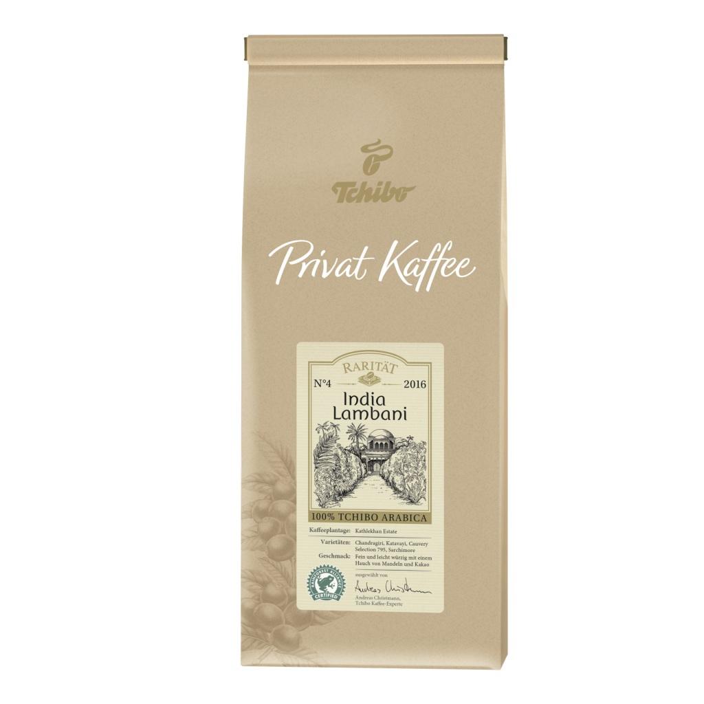 Packshot kawy Tchibo Raritat