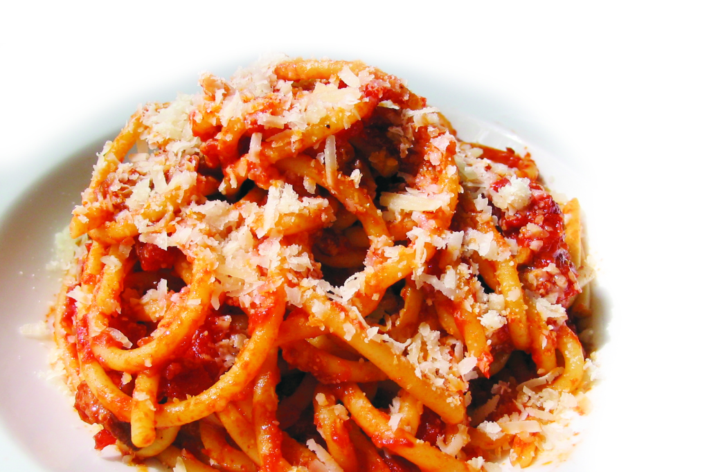 Bucatini all amatriciana