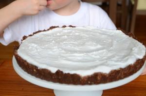 Bezglutenowe ciasto bez pieczenia