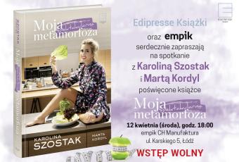 K Szostak_M Kordyl_Zaproszenie_Empik_Lodz_12042017
