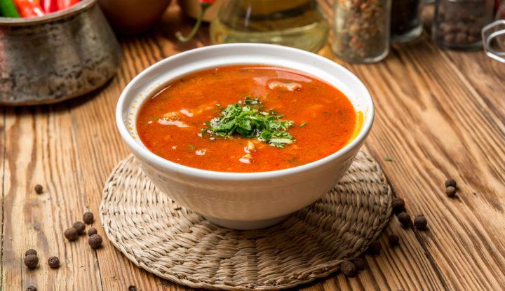 Charczo Gruzińska Zupa Gulaszowa Foodandkitchen